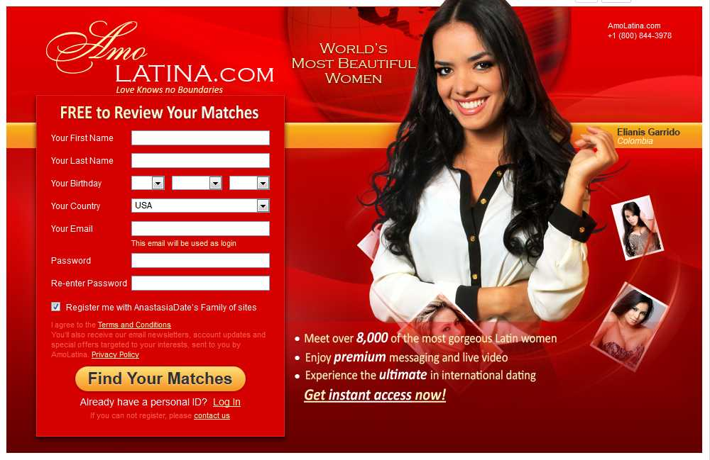 Free latino dating sites