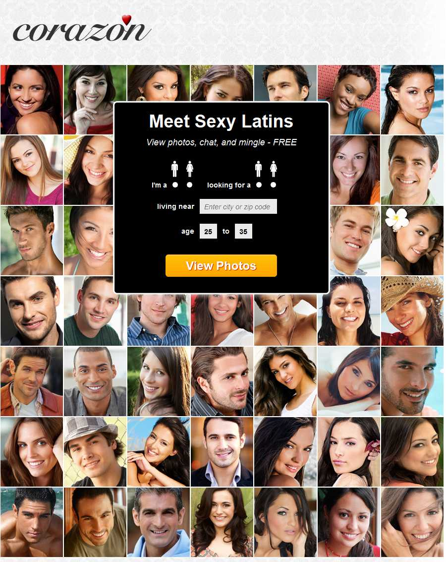 Free dating site latino