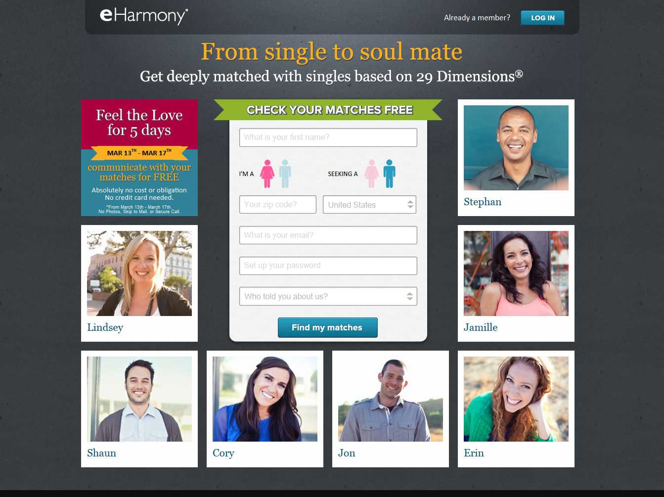 Free online dating sites for singles