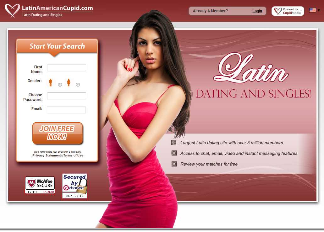 LatinAmericanCupid.com dating review
