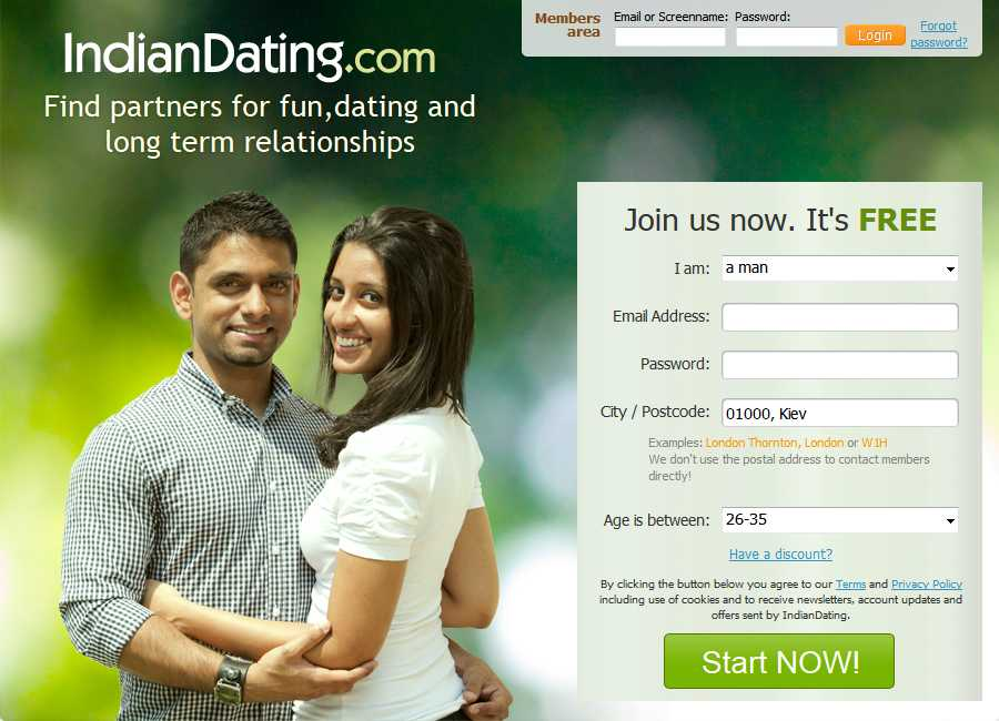 Online dating site free in india