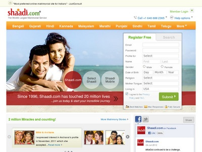 shaadi.com dating review